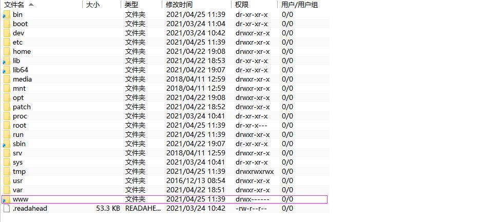修改宝塔默认WWW安装目录为其他挂载盘目录